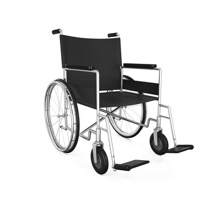 分離された車椅子