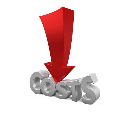costs: Costs Reduction Concept