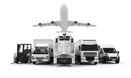 貨物輸送 写真素材