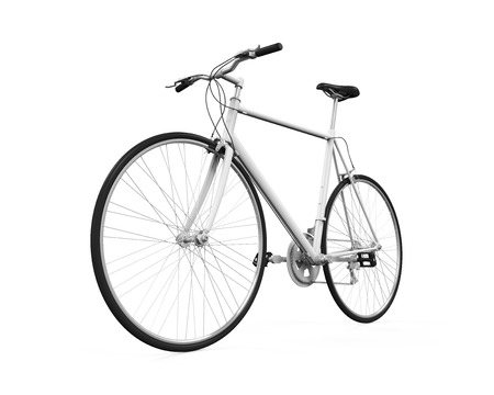 old and new: Bicycle Isolated