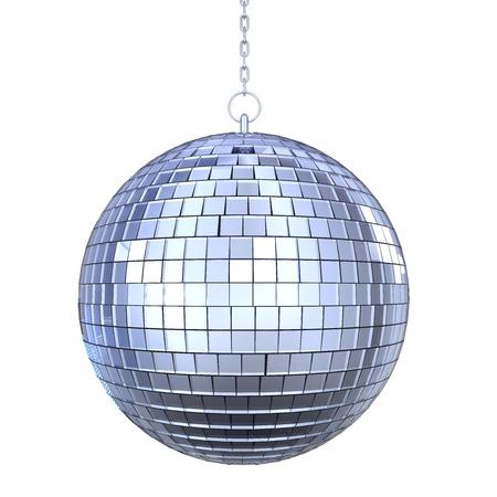 分離されたディスコ ボール