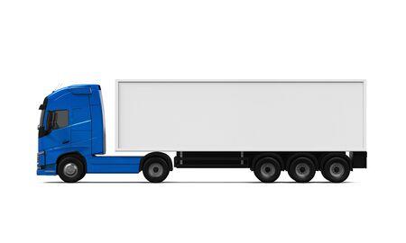 carga: Blue Cargo Truck Entrega