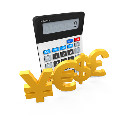 global currencies: Global Currencies with Calculator
