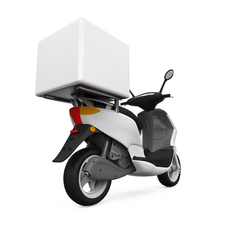 motors: Motorcycle Delivery Box
