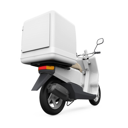 deliver: Motorcycle Delivery Box