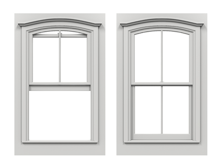 window open: Window Open and Closed