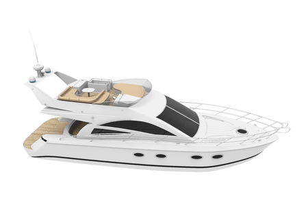 pleasure: White Pleasure Yacht