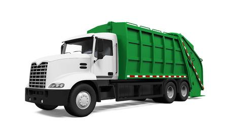 쓰레기 트럭입니다