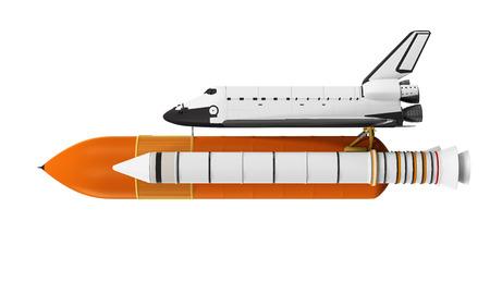 航空機: 分離したスペース ・ シャトル 写真素材