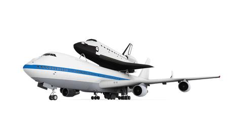 aircraft carrier: Shuttle Carrier Aircraft