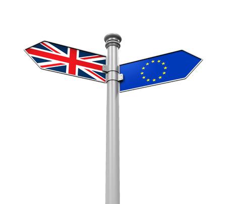 Brexit 방향 로그인 스톡 콘텐츠 - 54182709