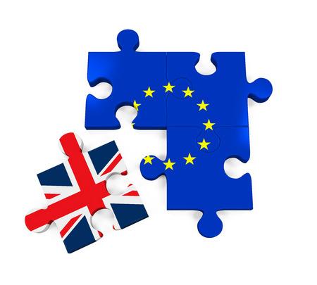 Brexit Puzzle Pieces