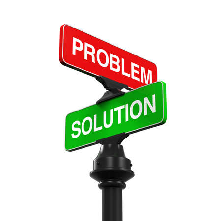 problem solution: Direction Sign of Problem and Solution