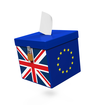 uk: Brexit Referendum Illustration