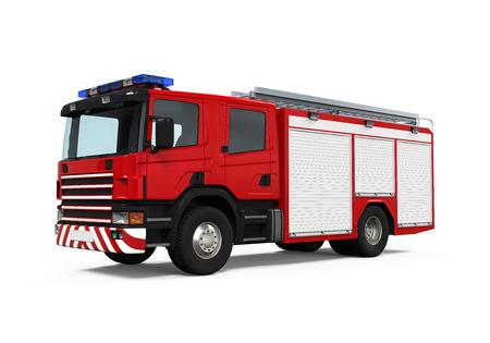 ladder safety: Fire Rescue Truck