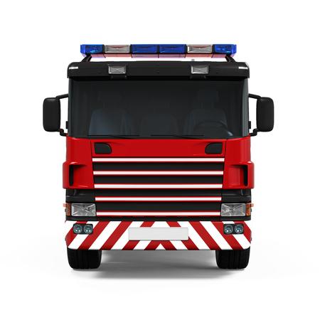 FIRE ENGINE: Truck Fire Rescue