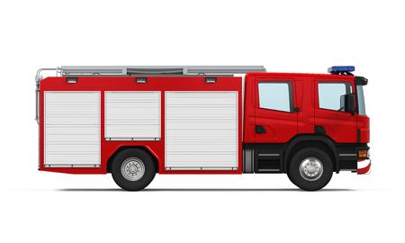 Redding van de brand Vrachtwagen Stockfoto - 54183079