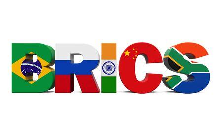 brics: BRICS Concept Illustration