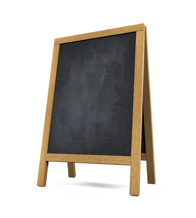 Gehweg Tafel Isoliert Standard-Bild