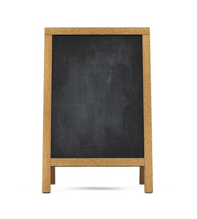 chalk board: Sidewalk Chalkboard Isolated