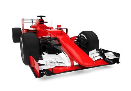 formula one: Race Car Stock Photo