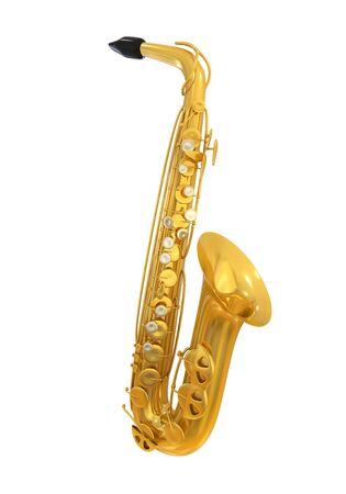 tenor: Saxophone Isolated