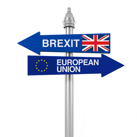 Brexit Direction Sign
