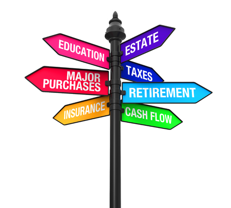 loan: Direction Sign of Personal Financial Planning