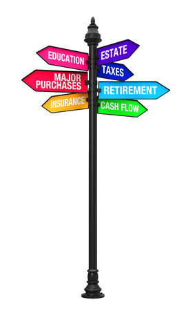 allocation: Direction Sign of Personal Financial Planning