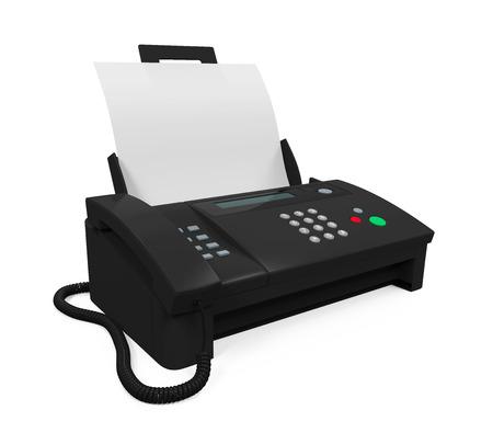 종이와 팩스 기계