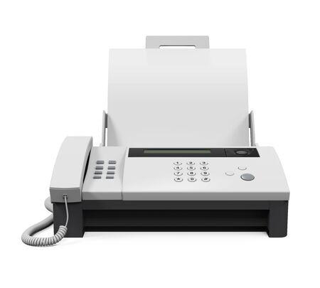 Faxgerät mit Papier