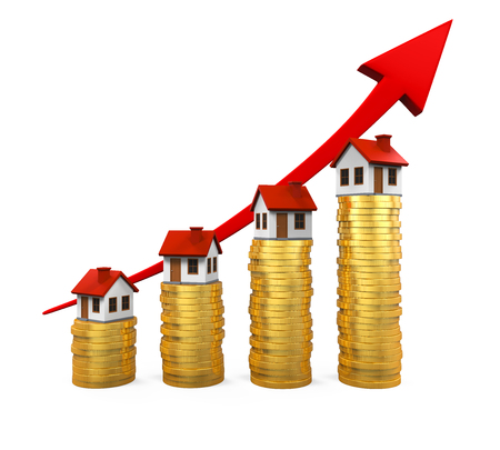 Growth in Real Estate Illustration