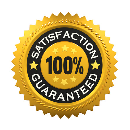 satisfaction: Satisfaction Guaranteed Label