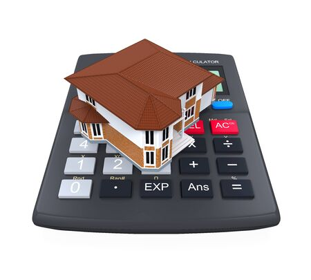 buying: Calculator and House Icon
