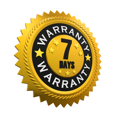 top 7: 7 Days Warranty Sign