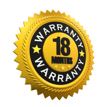 warranty: 18 Months Warranty Sign