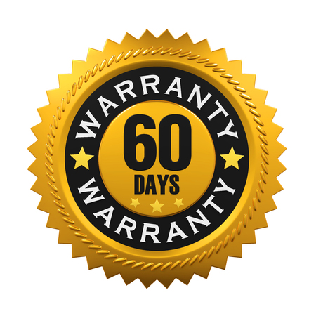 satisfaction: 60 Days Warranty Sign