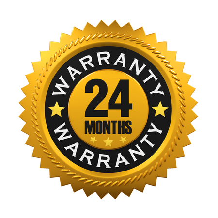 four month: 24 Months Warranty Sign