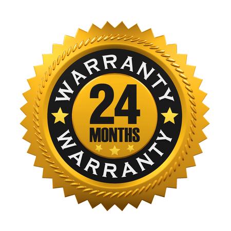 months: 24 Months Warranty Sign