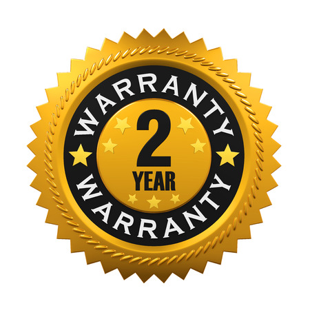 2 years: 2 Years Warranty Sign