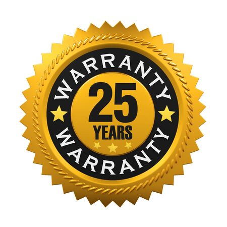 warranty: 25 Years Warranty Sign