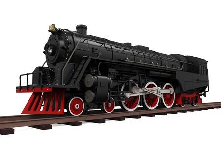 treno espresso: Vapore locomotiva treno