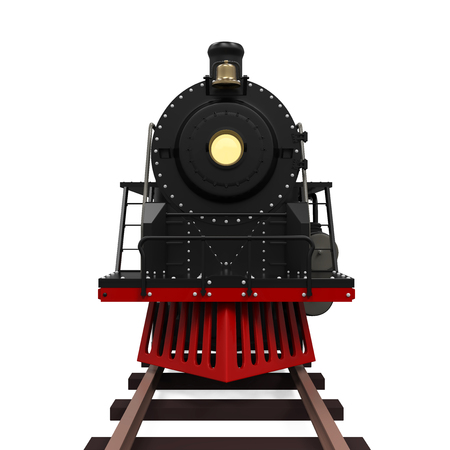 locomotive: Steam Locomotive Train