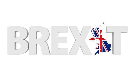 remain: Brexit Text Isolated