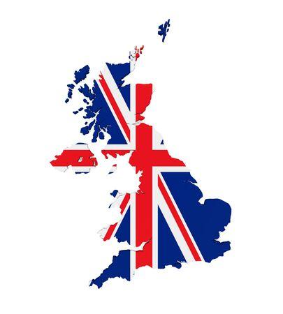northern: Map of United Kingdom