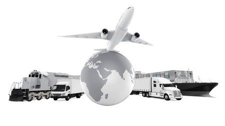 World Wide Cargo Transport Stock Photo - 63981856
