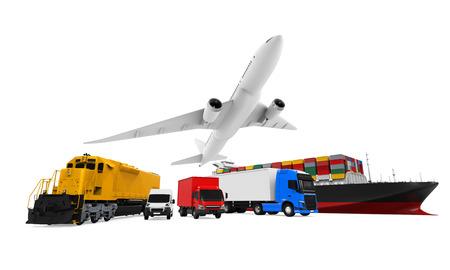 Vrachtvervoer Stockfoto - 63979042