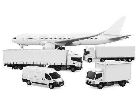 Vrachtvervoer Stockfoto