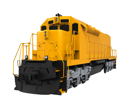 Gele Freight Train