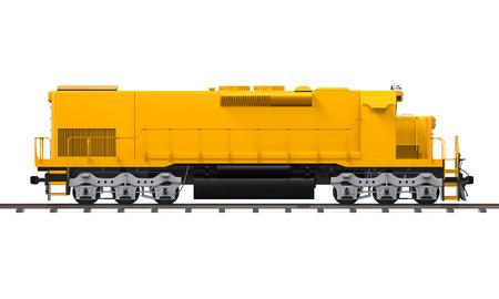 Yellow Freight Train Reklamní fotografie - 62345853